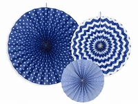 DECO ROZETTEN  DEEP BLUE